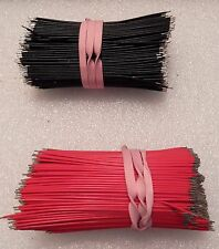 20 Awg Silver Plated  Stranded Pre Cut & Tinned **Rare Package** Red & Black
