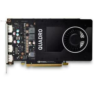 HP NVIDIA Quadro P2200 Graphic Card, 5GB GDDR5X, PCIe3.0x16, 4xDisplayPort
