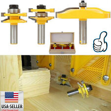 3pcs 1/2 Handle Panel Cabinet Door Router Bit Milling Cutters Power Hand Tool EK