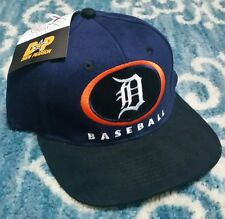 Vintage official Detroit Tigers Pearson Snapback Hat 90s MLB Baseball Cap NWT