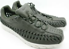 Nike Mens Mayfly Woven Leather Sequoia Green Running Shoe Sneakers 833132 11 NIB