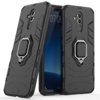 Hybrid Armor Shockproof Kickstand Case Heavy Duty Cover For Huawei Mate 20 Lite