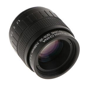 35mm F1.7 Camera Fixed Lens for Canon Nikon Sony Olympus Panasonic Pentax