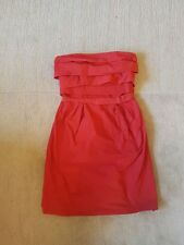 Lisa Ho: Womens Strapless Red Dress, Size 6-8