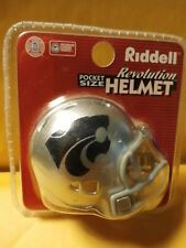 NCAA Kansas State Wildcats Revolution Pocket Pro Mini Football Helmet