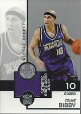 2005-06 Topps First Row Direct Effect #MB Mike Bibby Jersey /200 - NM-MT