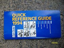 Vintage Original 1994 Cub Cadet Mowers, Tractors, Reference Guide