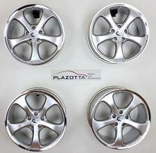 Techart Formula Felgensatz, shiny Silver pol., 9Jx21 Et50 und 11Jx21 Et63,