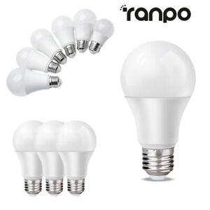 LED Globe Ampoule E27 Vis Lampe 3W 5W- 18W 20W Chaud Froid Blanc AC 220V- 240V