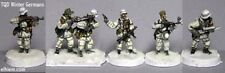 TQD GH03 20mm Diecast WWII German Winter Infantry includes LMG and NCO.