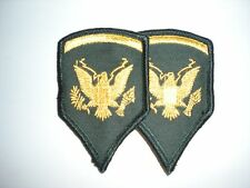US ARMY FEMALE SPECIALIST 5 RANK -1 PAIR - VIETNAM ERA