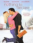 NOTING TO DECLARE FULL SCREEN DVD MOVIE BILLY ZANE PATRICK BERGIN UNRATED