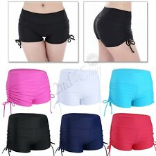 Boy shorts Bikini Swim Pants Swimwear Women's Boy Style Briefs Bottoms Beach