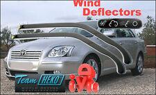 TOYOTA AVENSIS 2003-2009 SALOON/ESTATE Wind deflectors HEKO 29352 for FRONT DOOR