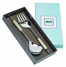 'Royal Salad Serving Set' Superb Salad Spoon + Fork in Presentation Box Genesis
