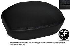 BLACK VINYL CUSTOM FITS HARLEY DAVIDSON SPORTSTER 883 REAR SEAT COVER ONLY