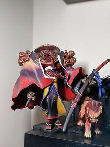 Final Fantasy X 10 Kotobukiya Artfx Yojimbo And Daigoro Figure statue pvc