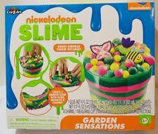 Nickelodeon Slime Garden Sensations Kit BONUS Surprise Charm included!