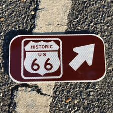 """Route 66 - US 66  Road Sign - 12""""x6"""" - UNUSED DOT sign - traffic highway road"""