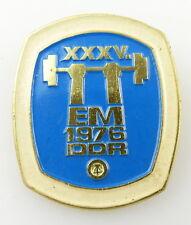 #e3331 insigne rda xxxv. em 1976 Musculation