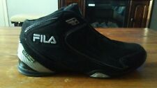 Fila Black/Silver Basketball Shoes Size 11