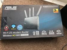 Asus Wi-Fi LTE Modem Router Wireless-AC1900 4G-AC68U