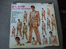 Elvis' Golden Records Volume 2 RARE Vinyl LP - Red Spot Label