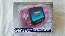 NINTENDO GAME BOY - ADVANCE PINK (BOXED 2)