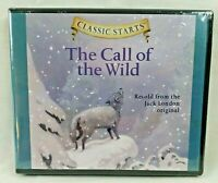 NEW Classic Starts The Call of the Wild Audio CD By Jack London Children Stories