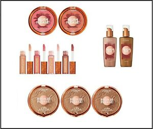 Loreal Summer Belle Shimmering Collection PICK Bronzer Blush Luminizer Lipgloss