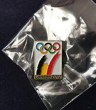 LONDON 2012 SUMMER OLYMPIC GAMES Belgium NOC pin badge Brand New in packaging