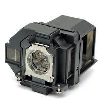 Replacement Lamp for Epson ELPLP96, PowerLite 2247U 970 980W 990U S39 W39 X39
