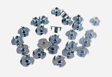 "25 Pack 10-32 T-nuts 5/16"" Barrel Zinc Plate 1/4"" Hole       3#10F005"