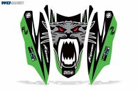 Decal Graphic HOOD Kit Arctic Cat Firecat/Sabercat Sled Snowmobile NOSE Wrap G