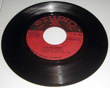 Vintage Studio 1 SCA-Balens & Shame & Scandal 45 LP ST 711 ST 712 RARE RED