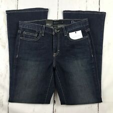 NWT Calvin Klein Flare Women  Denim Size 6 Dark Wash