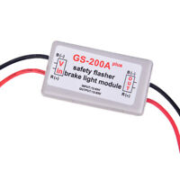 Vehicle Car GS-200A  LED Brake Stop Light Strobe Flash Module Controller WhiteBB