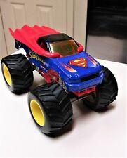Hot Wheels Monster Jam 1:24 Superman monster truck 2013