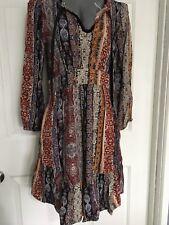 Ladies size 10 DOTTI DRESS NINA Boho hippy GYPSY PEASANT FESTIVAL