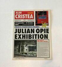 Julian Opie 'Newspaper' 2003 SIGNED NUMBERED ed150 Alan Cristea Print RARE 20pgs