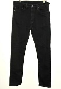"Classic Levi's Strauss & Co. 510 Black Denim Jeans Trousers W 34"" L34"""