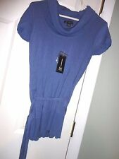 INTERNATIONAL CONCEPT WOMENS KNITTED STRETCHY COWL NECK PULLOVER TOP SIZE M