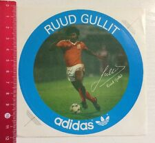 Aufkleber/Sticker: Adidas - Ruud Gullit (04011721)