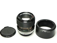 Canon FD 100mm F2.8 S.S.C. + BT-55