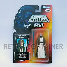 STAR WARS Kenner Hasbro Action Figure - POTF POTF2 - Obi-Wan Kenobi ITALIAN GIG