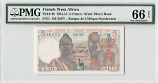 French West Africa 1951 P-36 PMG Gem UNC 66 EPQ 5 Francs