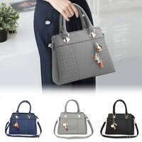 Ladies Handbag Work Bag Faux Leather Medium Shoulder Tote Bag Women Designer UK