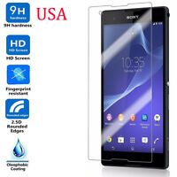 9H ULTRA CLEAR TEMPER GLASS SCREEN PROTECTOR FOR SONY Xperia T2 Ultra