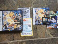 Katekyoo Hitman Reborn! DS Flame Rumble Hyper - Moeyo Mirai Ds Game! Jpn!
