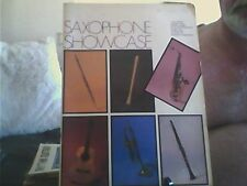 Saxophone Showcase Paperback English Easy Listening 1985